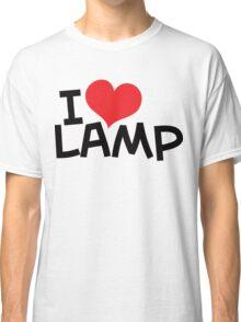 I Love Lamp Classic T-Shirt