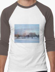 Frozen Lake Men's Baseball ¾ T-Shirt