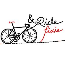 ride fixie Photographic Print
