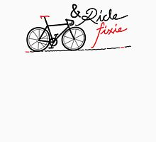 ride fixie Womens Fitted T-Shirt