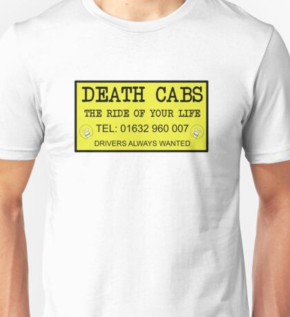 The Mighty Boosh – Death Cabs Unisex T-Shirt