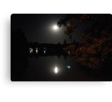 Moonlight at Lake Weeroona Canvas Print