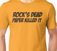 Rock's Dead Unisex T-Shirt