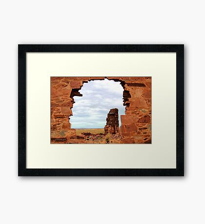 What's Left Framed Print