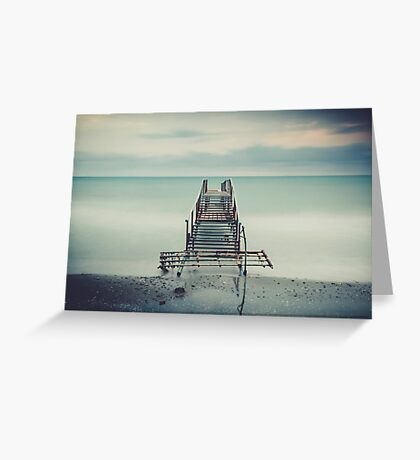 Tranquil Blues Greeting Card