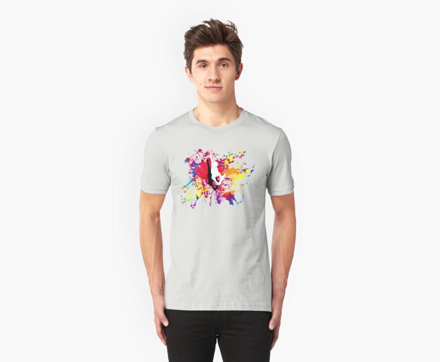 skateboard t-shirt by ralphyboy