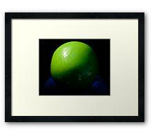 Big Green Ball Framed Print