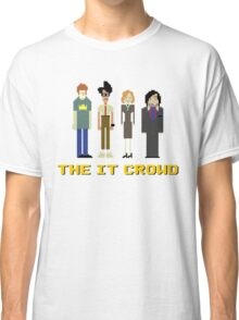 The IT Crowd – Roy, Moss, Jen and Douglas Classic T-Shirt