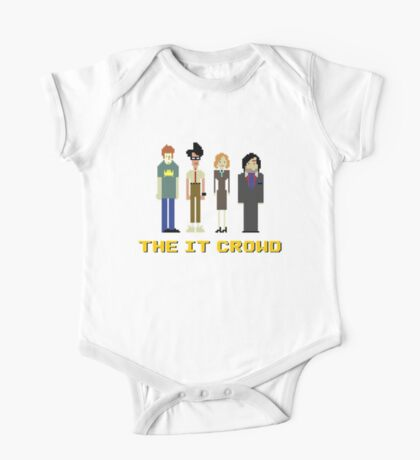 The IT Crowd – Roy, Moss, Jen and Douglas One Piece - Short Sleeve