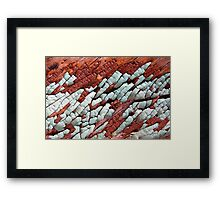 Dry Ice Framed Print