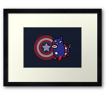 Captain Hamerica Framed Print