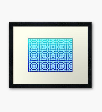 Background Framed Print