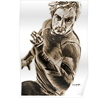 Quicksilver - Charcoal Poster