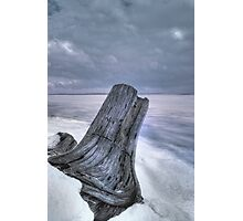 Winters Shore Photographic Print