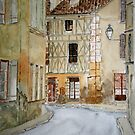 Watercolour of LaReole  by Irene  Burdell