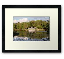 The Summer Home Framed Print