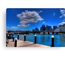 Darling Harbour, Sydney (II) Canvas Print