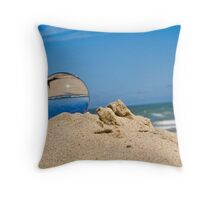 Glass from Sand Throw Pillow