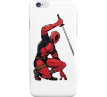 Deadpool sword iPhone Case/Skin
