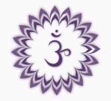 Om or Aum Symbol of wisdom and meditation by Heidi Hermes