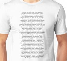 Hamlet's Soliloquy  Unisex T-Shirt