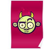 Confused Devil Poster