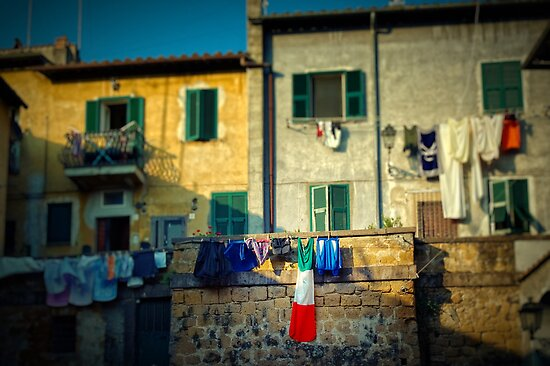 The flag needed washing... by Silvia Ganora