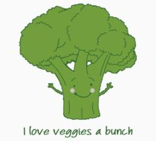 I love veggies a bunch Baby Tee