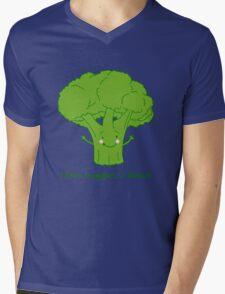 I love veggies a bunch Mens V-Neck T-Shirt