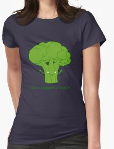 I love veggies a bunch Womens Fitted T-Shirt