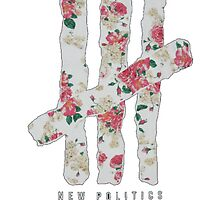 New Politics Floral by American-Psyhco