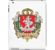 Coat of Arms of Vilnius iPad Case/Skin