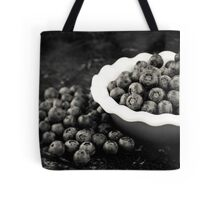 Blueberry Plate Tote Bag