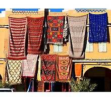 Rugs for sale Photographic Print