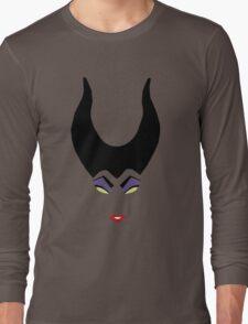 Minimalist Maleficent Long Sleeve T-Shirt