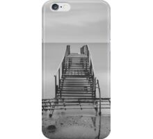 Tranquil Blues - BW iPhone Case/Skin