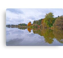 The Reflective Jewel Canvas Print