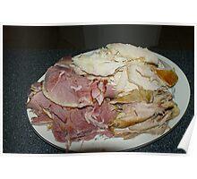 Ham & Turkey Poster