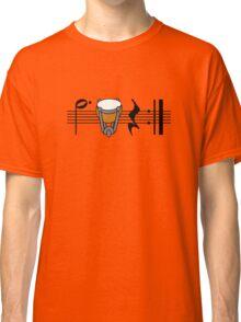 Beat, Timp, Rest, Repeat Classic T-Shirt