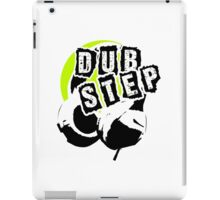 Dub Step Point (with headphones) iPad Case/Skin