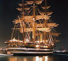 Amerigo Vespucci (ship) by MarioJ