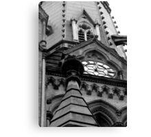 Toronto: Gothic Church 2 Canvas Print