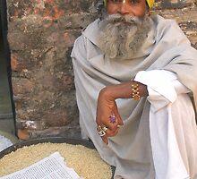 The reader, Pushkar, Rajasthan, India by photoartindia