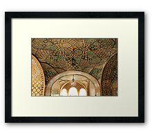 Iranian - Islamic architecture design Framed Print