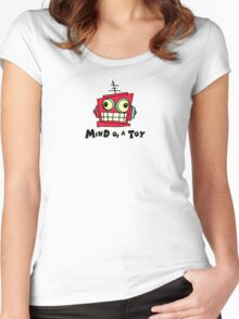 MIND OF A TOY Women's Fitted Scoop T-Shirt