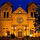 The Cathedral Basilica of St. Francis de Assisi, Santa Fe by Mitchell Tillison