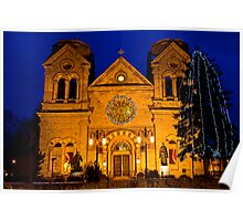 The Cathedral Basilica of St. Francis de Assisi, Santa Fe Poster
