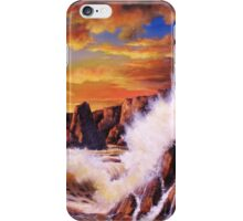 GOLDEN YELLOW SUNSET iPhone Case/Skin