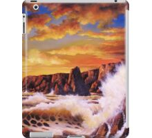 GOLDEN YELLOW SUNSET iPad Case/Skin