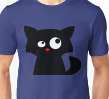 Cat looking at something Unisex T-Shirt